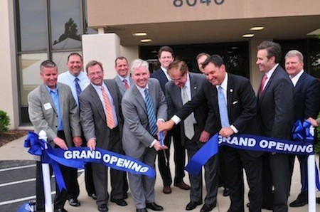 Grand Opening Ribbon Cutting at The Bridge Financial Group